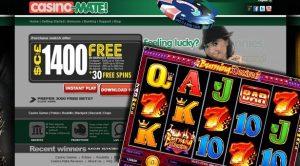 Casino mate casino logo